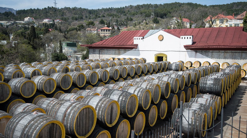 Crimea Massandra winery makes first exports since sanctions