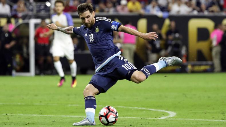 Messi breaks goalscoring record as Argentina beats USA to reach Copa America final