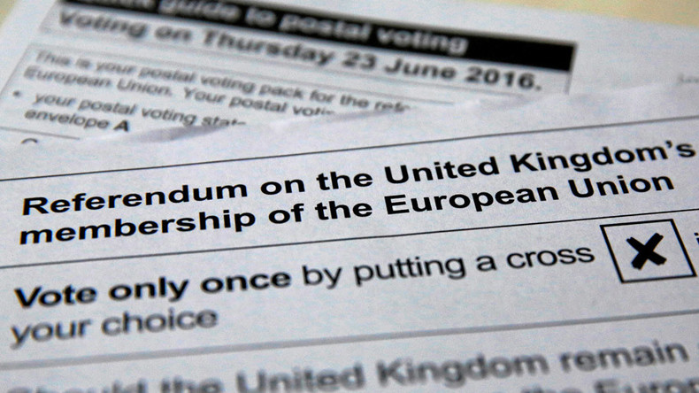 The false choice of the Brexit referendum