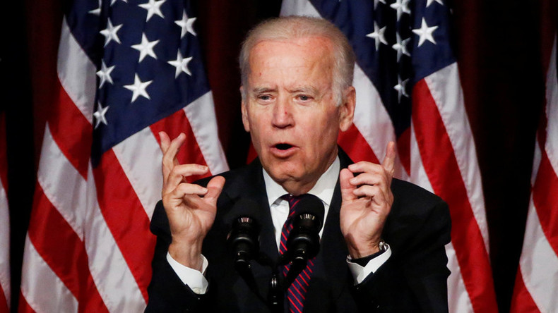 'Freudian slip': VP Biden says he wants Syrian president named 'Saddam' to go