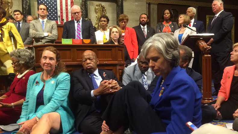 Before House Dems' sit-in on guns, a stand-off on Constitution