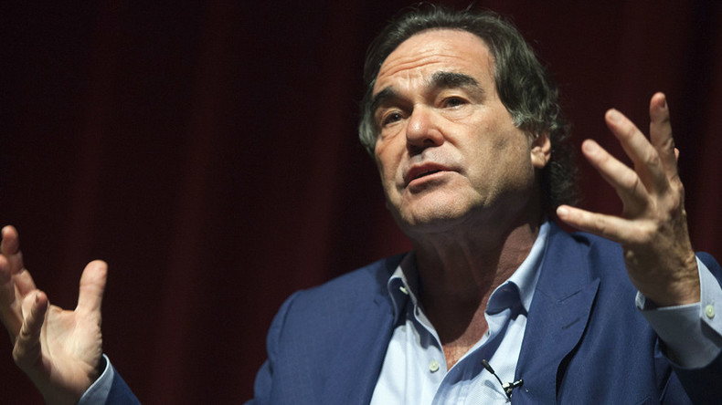 'Form of fascism': Oliver Stone blasts US government for mass surveillance