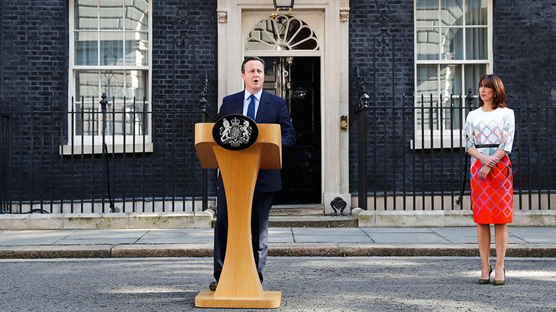 Cameron steps down as PM, to leave office by October (VIDEO)