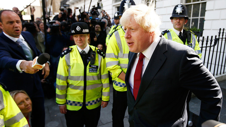 Bookies' favorite for PM, Boris, says 'Britain will continue to be a great foreign power'