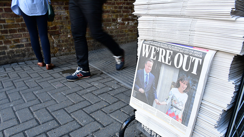 Post-Brexit turmoil after vote to leave the EU