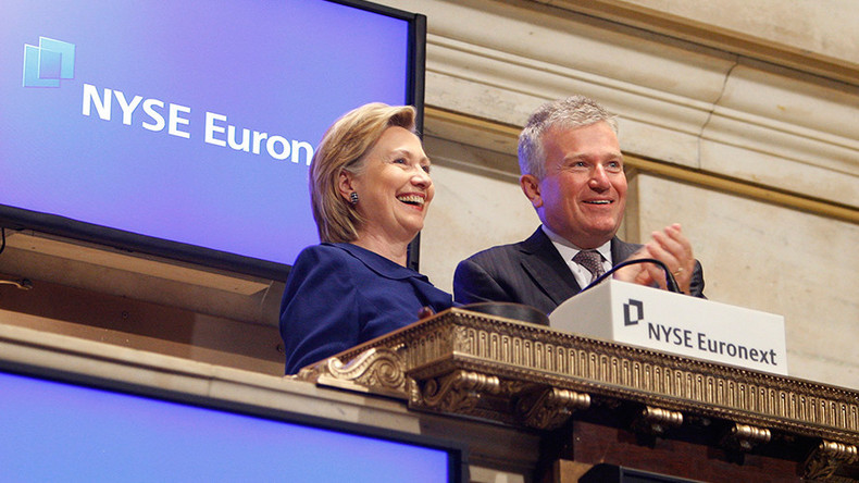 High powered Wall St. breakfast among gaps & missing entries in Clinton's State Dept diary