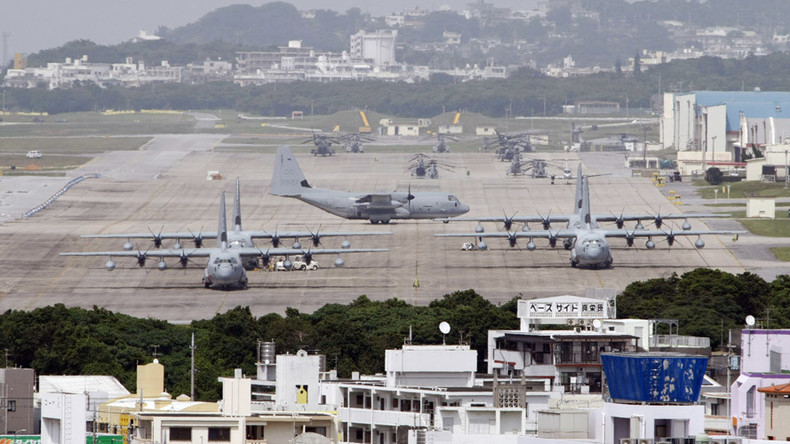 US base civilian worker arrested in Okinawa over suspected DUI