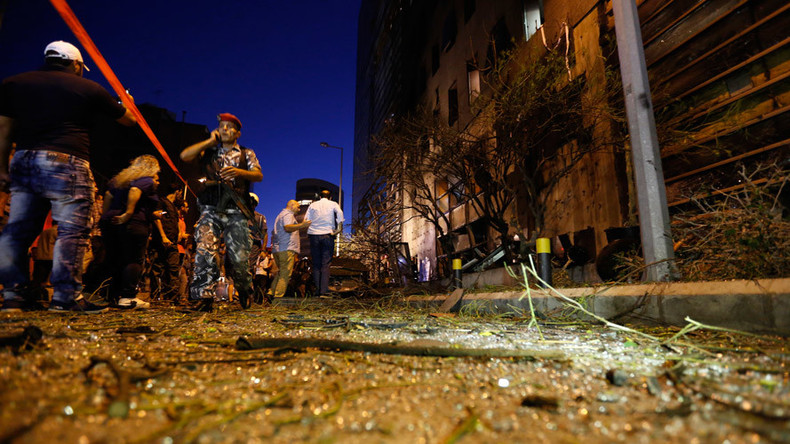 At least 6 killed, 19 injured in coordinated suicide bombing in Lebanon – reports