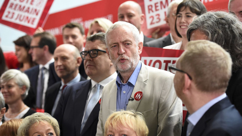 Corbyn digs heels in, appoints new Labour shadow cabinet amid mutiny