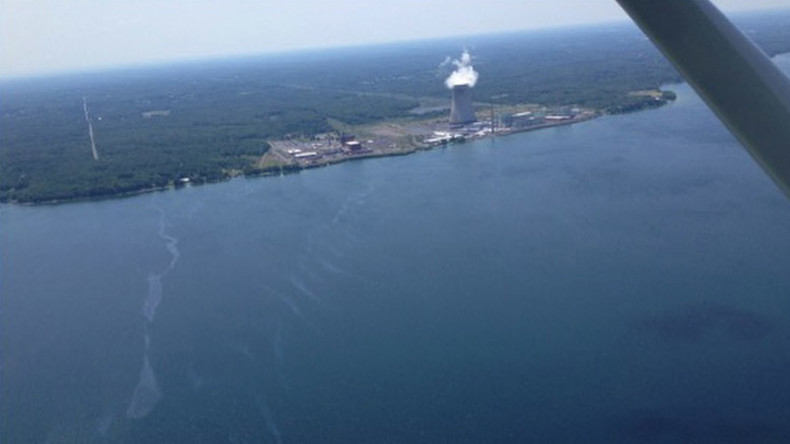 'Sheen' spotted on Lake Ontario near nuclear power plant