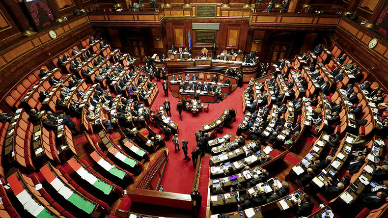 Italian senate refuses to back automatic renewal of anti-Russian sanctions