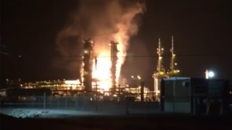 Explosion, blaze at Pascagoula Gas Plant in Mississippi, US