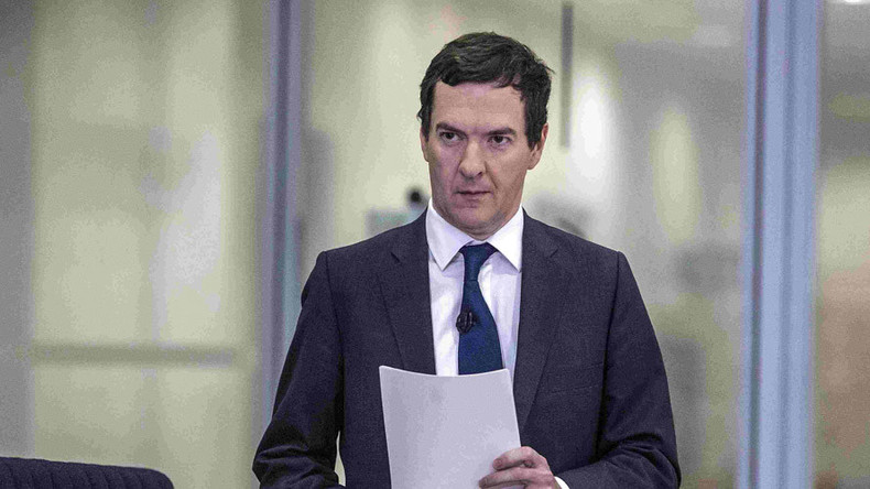 'The country is going to be poorer' because of Brexit - Osborne