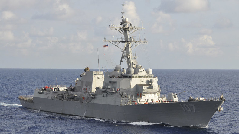 US destroyer gets dangerously close to Russian patrol boat in Mediterranean – Moscow