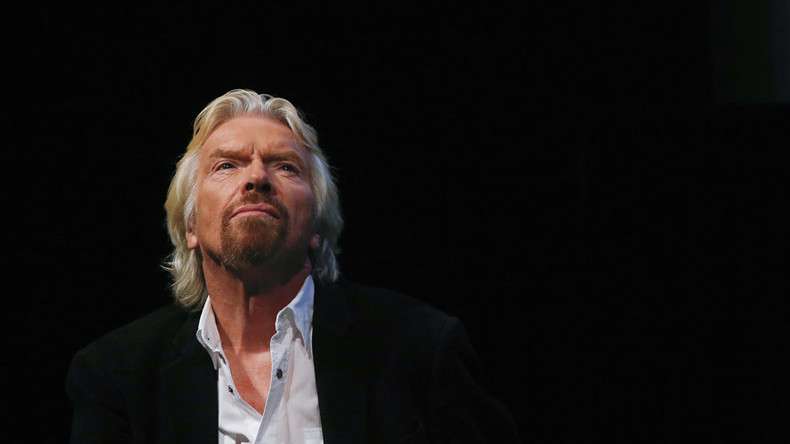Branson says Brexit wipes third of value from Virgin Group