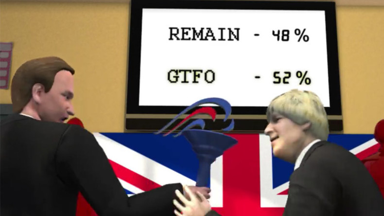 Surreal Taiwanese cartoon nails the Brexit crisis (VIDEO)