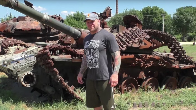 Ex-UFC fighter Monson visits Ukraine conflict zone, blasts US for calling locals 'terrorists'