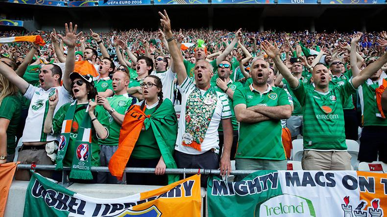 Euro 2016: Irish eyes smiling after fans receive prestigious French award