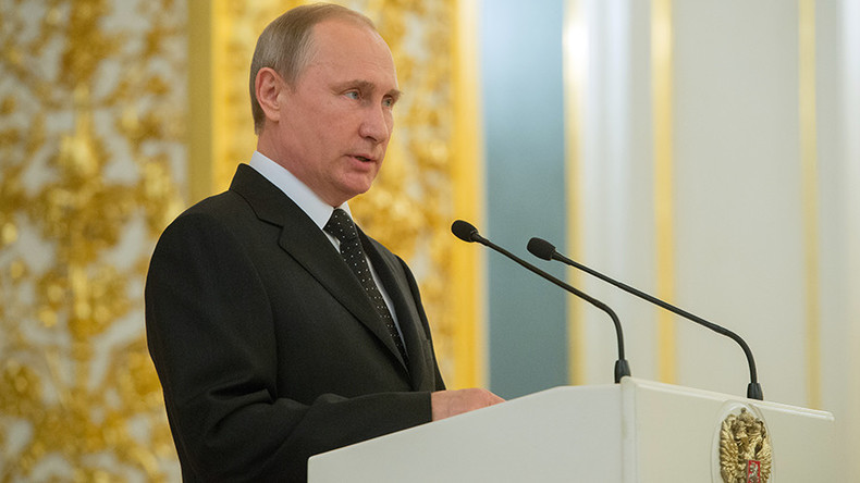 Putin: Rivalry for world's resources increasing, some try to disregard all rules