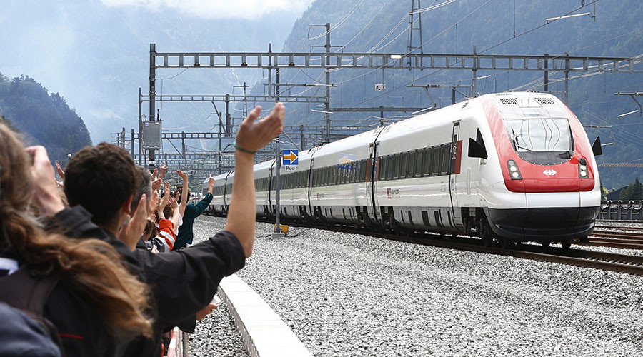 World's longest rail tunnel opens through Swiss Alps (PHOTOS, VIDEOS)