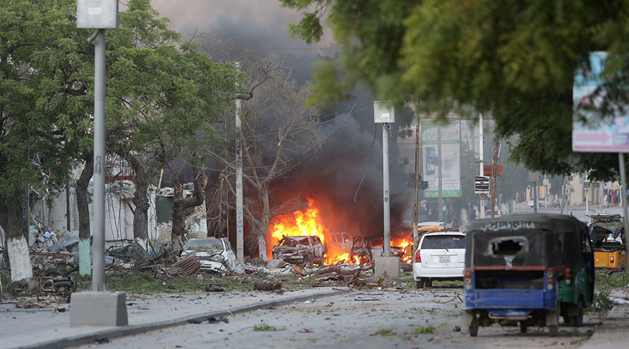 At least 15 killed in Al-Shabaab hotel attack in Somali capital
