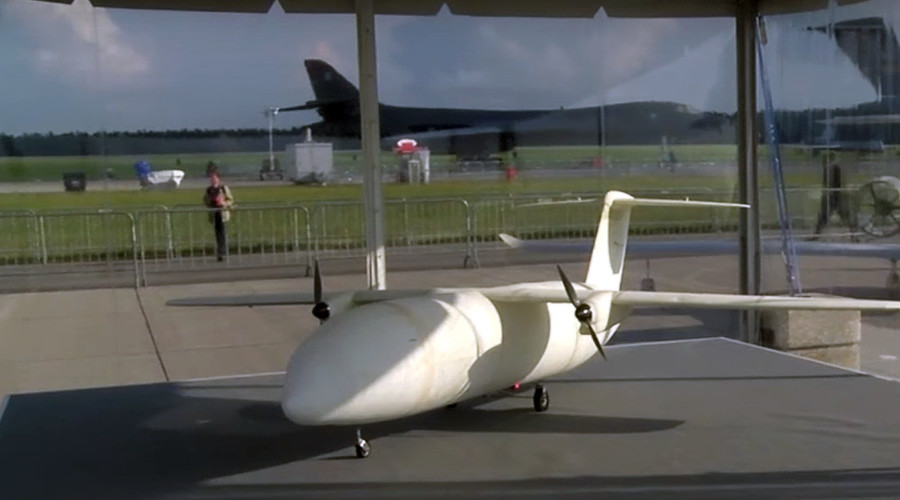 Airbus showcases 3D-printed drone at Aerospace expo in Berlin