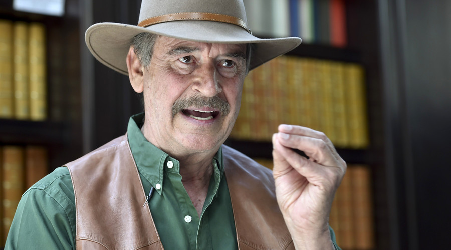 Ex-Mexican President Vicente Fox challenges Trump to debate at 'no charge'