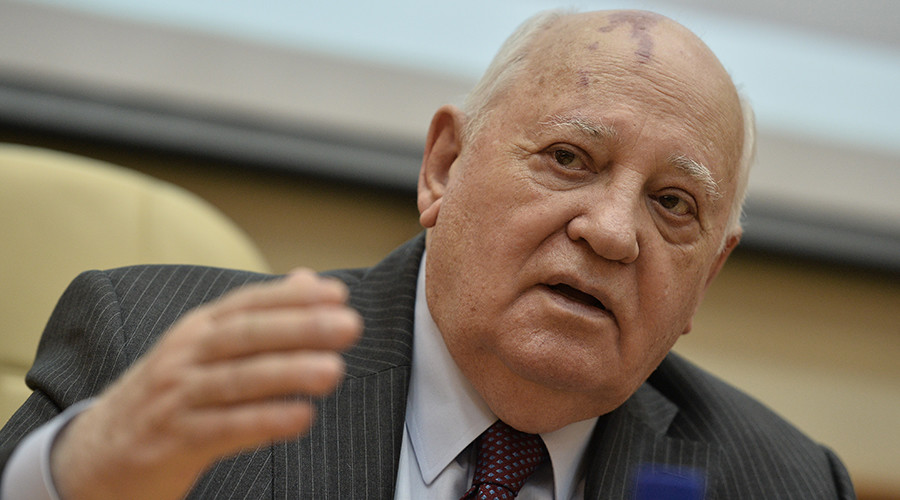 Gorbachev warns world of 'cult of force,' says all recent conflicts could have had peaceful solution
