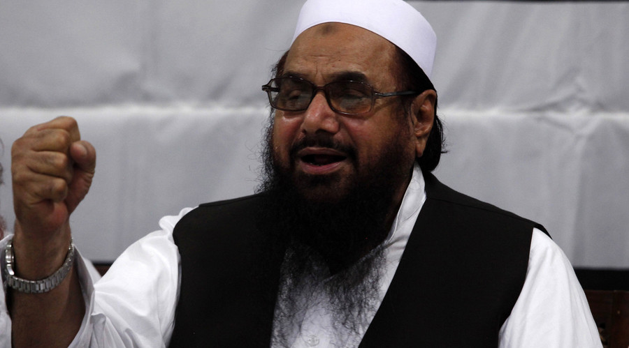 Wanted Pakistani Islamist makes calls to shoot down US drones