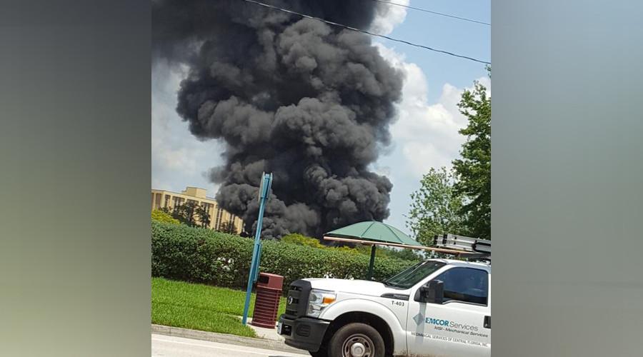 Massive fire in Orlando near Disney World (PHOTOS, VIDEOS)