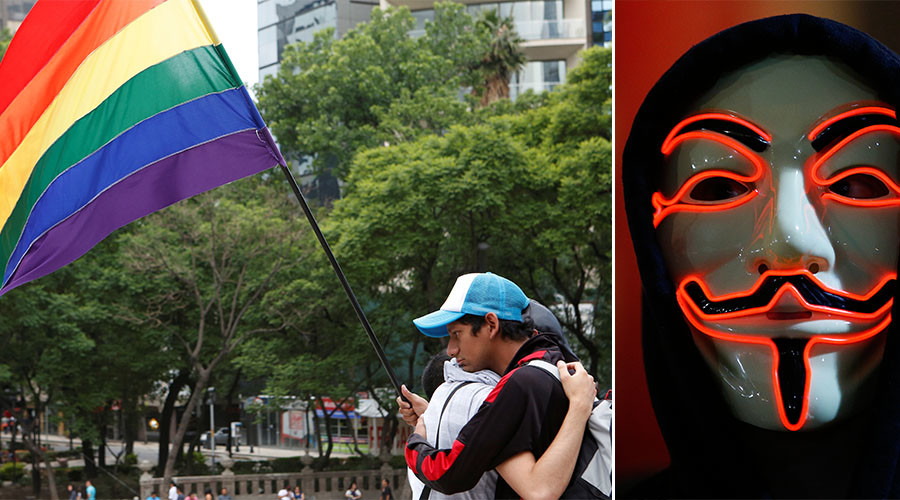 Hacktivist cracks ISIS Twitter accounts, posts rainbow flags & gay porn as payback for Orlando boast