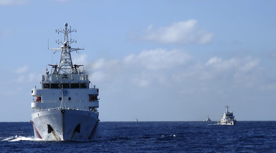 Beijing goes mobile in the South China Sea