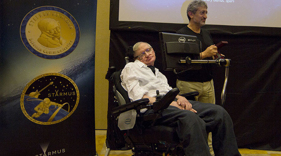 Stephen Hawking announces first recipients of his Starmus Festival award (VIDEO)