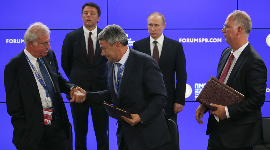 Russia strikes over $15bn worth of deals despite sanctions at SPIEF 2016