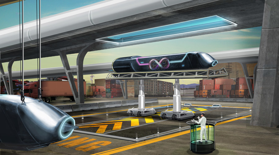 Moscow commute at 1,200 kph & new Silk Road: Russia explores Hyperloop sci-fi dream