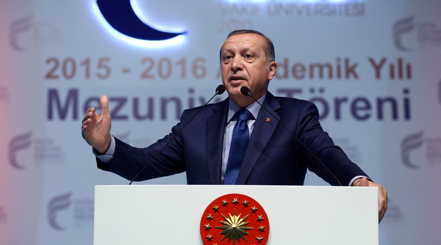 Erdogan: EU doesn't want Turkey because 'majority is Muslim'