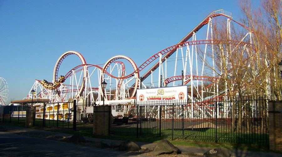 Rollercoaster derails at Scotland's M&D theme park, injuring 11 (PHOTOS)