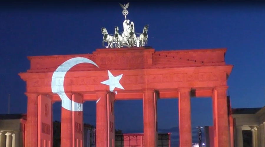 From Australia to US, cities light up for Turkey as darkness falls (PHOTOS)