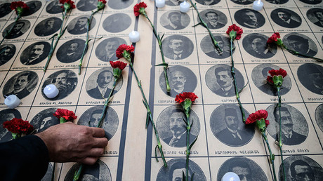 Merkel to miss vote as Turkey pressures Germany not to recognize Armenian genocide