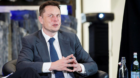 CEO of Tesla Motors Elon Musk © Heiko Junge