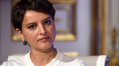 French Education minister Najat Vallaud-Belkacem. © Eric Feferberg