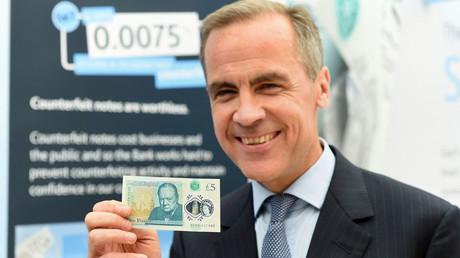 The Governor of the Bank of England, Mark Carney © Joe Giddens