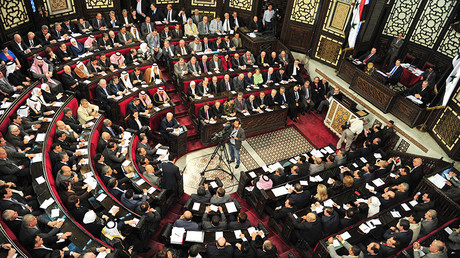 Members of the Syrian parliament © SANA