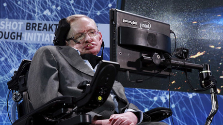 Physicist Stephen Hawking © Lucas Jackson