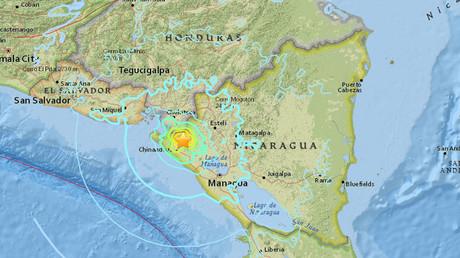 6.1 quake, strong aftershocks shake Nicaragua, Honduras & El Salvador
