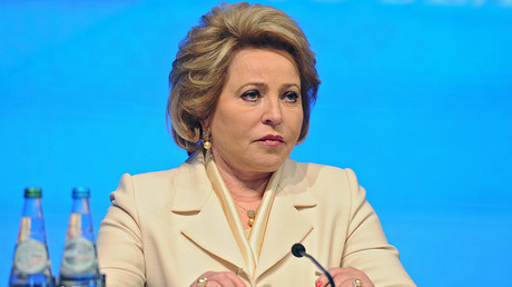 Russian Federation Council Speaker Valentina Matviyenko © Michael Klimentyev