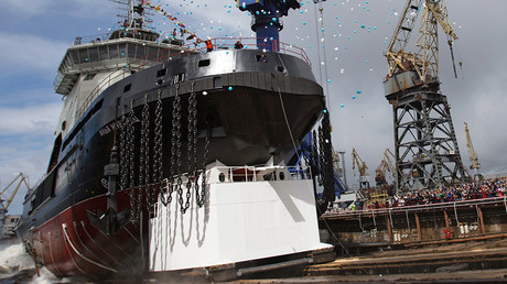 Arctic giant: 1st new Russian icebreaker in decades starts sea trials (PHOTO, VIDEO)  %Post Title
