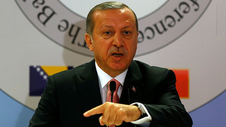 Erdogan slams US support of Syrian Kurds, lectures Washington on 'good & bad terrorists'