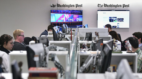The Washington Post newsroom © Mandel Ngan