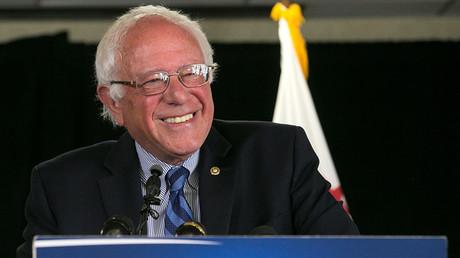 Democratic U.S. presidential candidate Bernie Sanders © Elijah Nouvelage